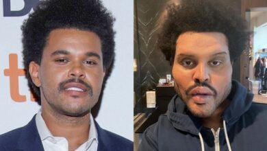 Photo de Le nouveau look de l'artiste The Weeknd affole la toile!