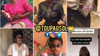Photo de Brenda Biya félicite DIANA BOULI pour ses performances de tiktokeuse
