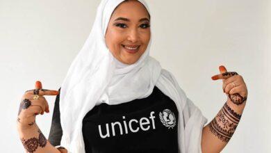 Photo de Djaïli Amadou Amal nommée Ambassadrice de l'UNICEF