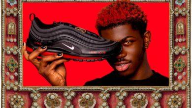 Photo de Lil Nas commercialise des chaussures sataniques, Nike porte plainte…