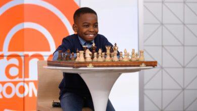 Photo de Etats Unis : A seulement 10 ans, Tani Adewumi, Réfugié nigérian devient champion national de jeux d'échecs