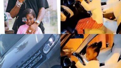 Photo de Pour ses 6 ans, La star nigériane Davido offre une bagnole à sa fille