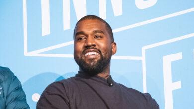 Photo de Kanye West prolonge la séparation sur les réseaux avec la famille Kardashian