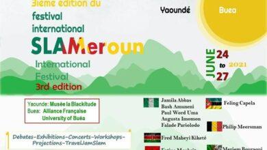 Photo de Cameroun : la crise anglophone au cœur de la 3e édition festival SLAMeroun 2021