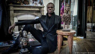 Photo de Imane Ayissi, le styliste camerounais fait Chevalier des Arts et Lettres en France