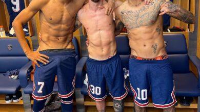 Photo de Cette photo de Mbappé, Messi et Neymar qui affole la toile