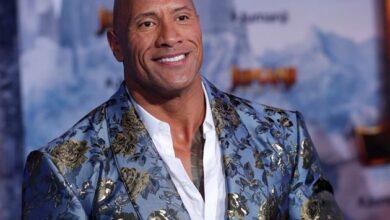 """Photo de Dwayne """"The Rock"""" Johnson fait ses débuts dans le rap"""