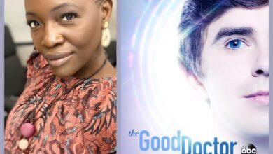 Photo de L'actrice camerounaise Constance Ejuma jouera dans la série « The Good Doctor »